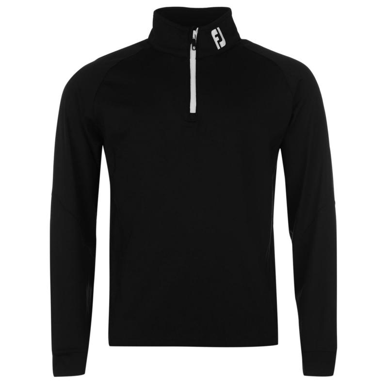 Footjoy Chillout Pull Over Mens Black