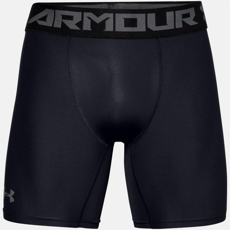Under Armour HeatGear Core 6 Inch Shorts Mens Black