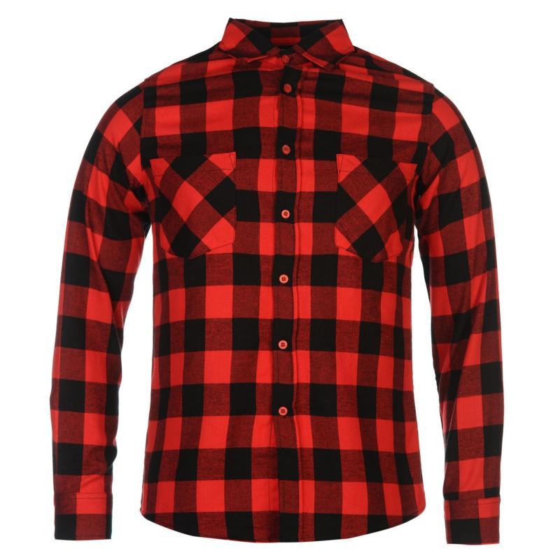 Peaked Apparel Checked Shirt Mens Pentagram