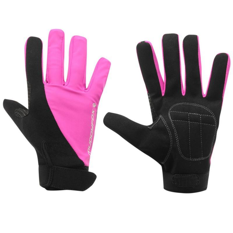 Muddyfox Bike Gloves Black/Pink