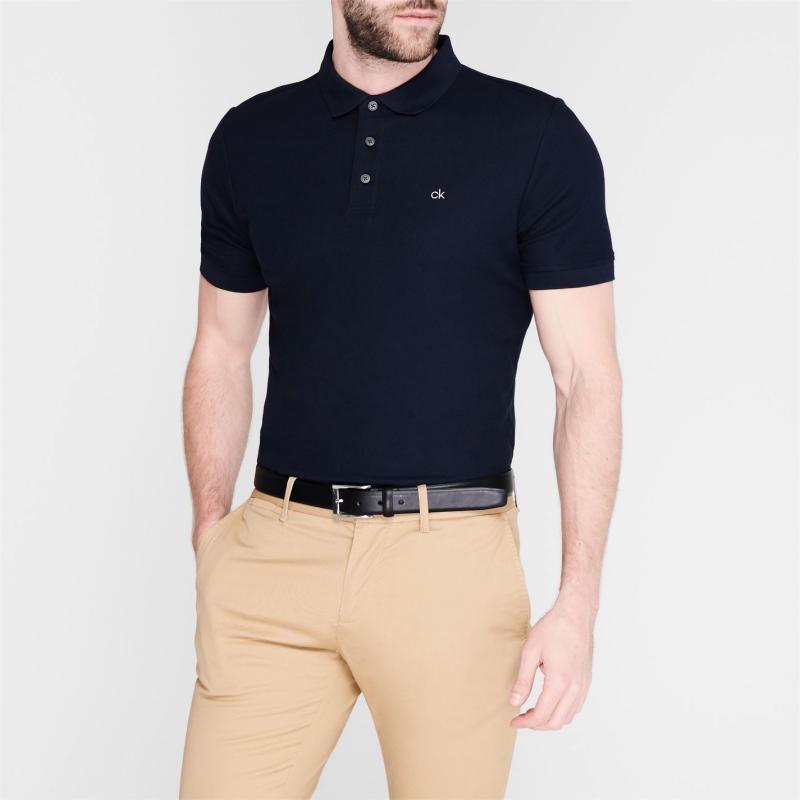 Calvin Klein Golf Calvin Midtown Polo Shirt Navy