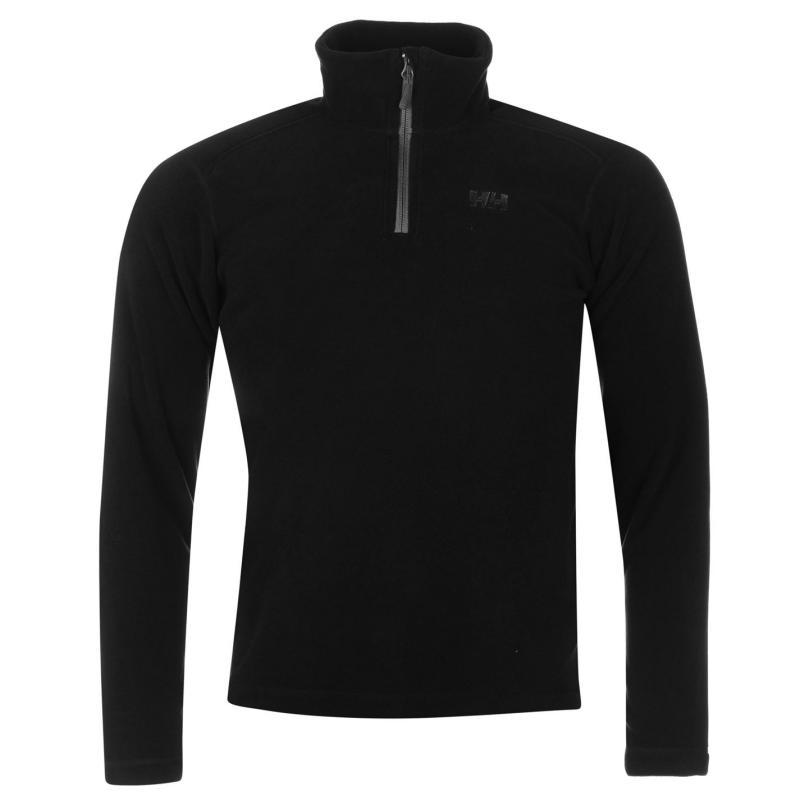 Mikina Helly Hansen Alderley Fleece Mens Black/Charcoal