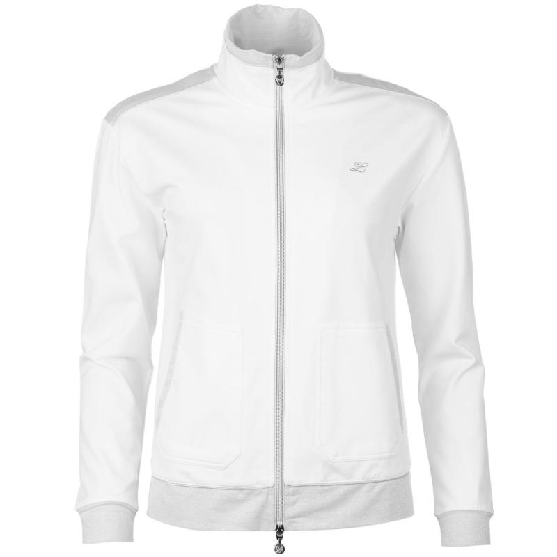 Limited Sports Bambi Tennis Warm Up Jacket Ladies White