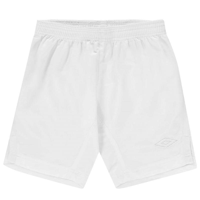 Kraťasy Umbro Team Shorts Junior White