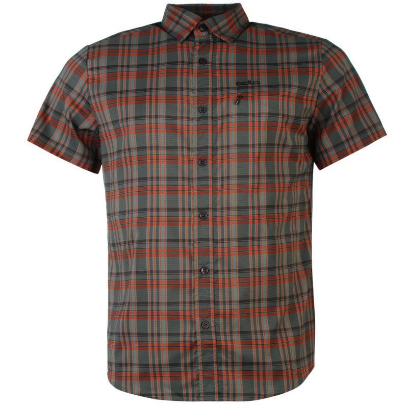 Odlo Alley Shirt Mens Brown