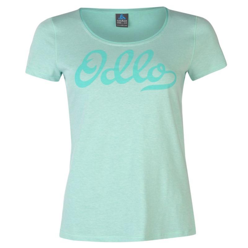 Odlo Logo T Shirt Ladies Mint