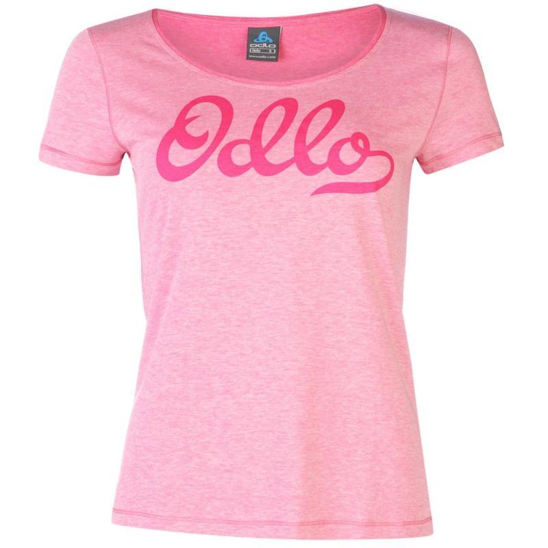 Odlo Logo T Shirt Ladies Pink