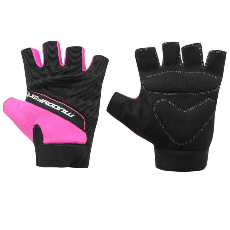 Muddyfox Bike Mitts Black/Pink