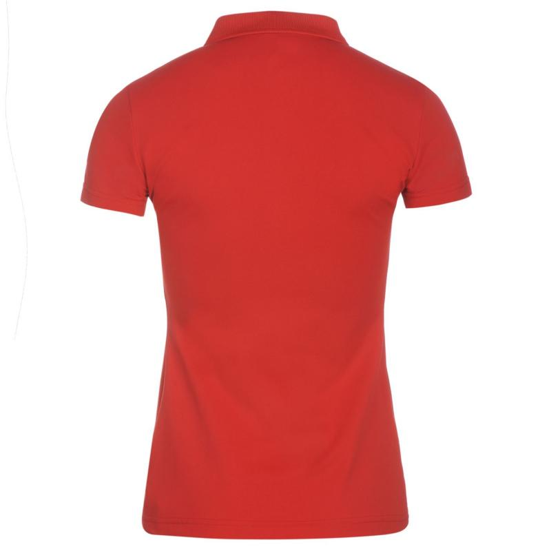Tričko Colmar U9MB Golfing Polo Shirt Ladies Red