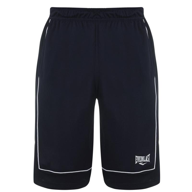Everlast Basketball Shorts Mens Navy/White