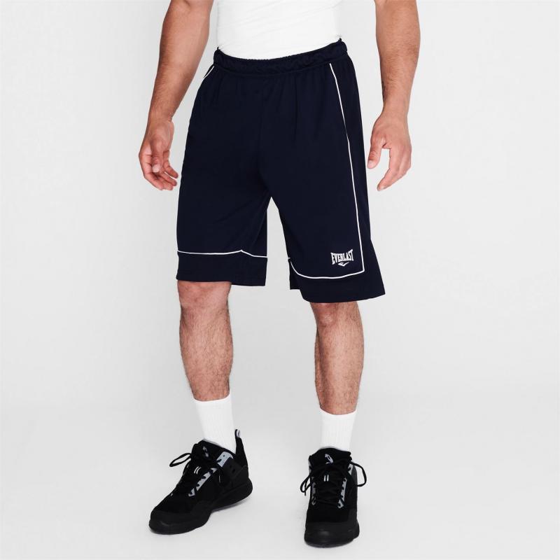 Everlast Basketball Shorts Mens Navy/White