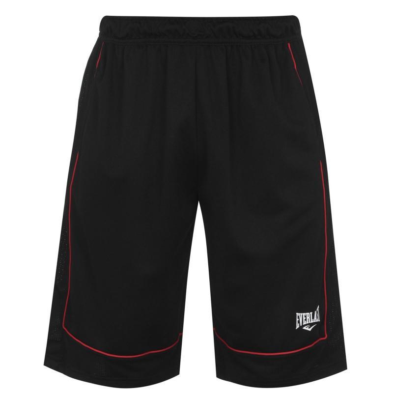 Everlast Basketball Shorts Mens Black/Red