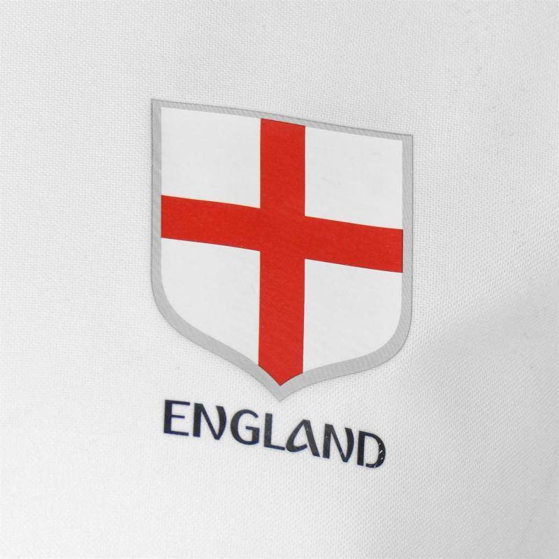 Tričko FIFA World Cup Russia 2018 England Poly T Shirt Mens White