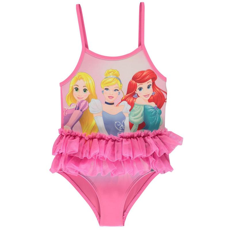 Character Swimsuit Girls Disney Princess