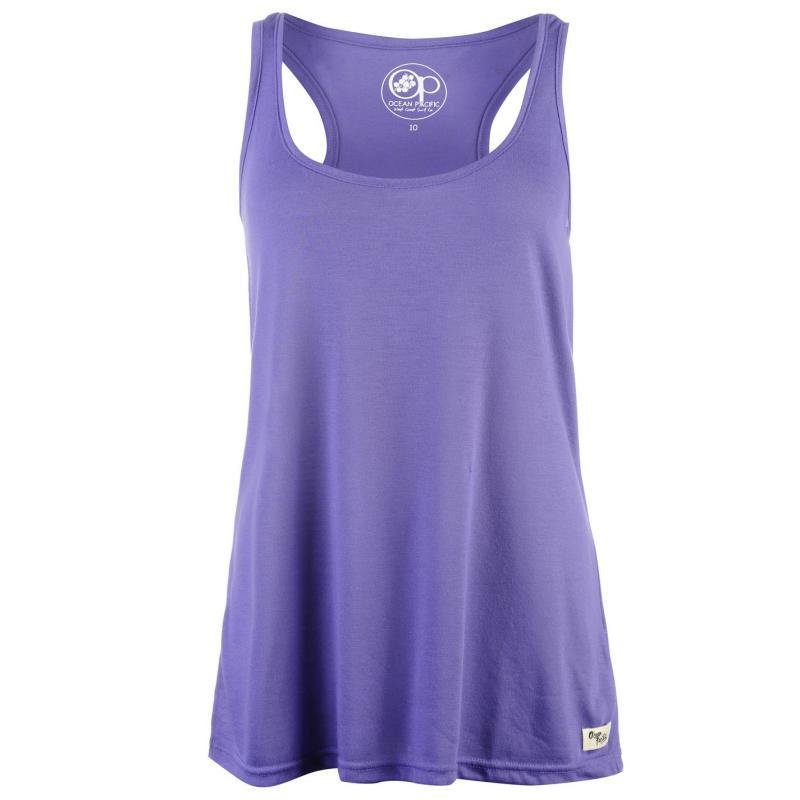 Ocean Pacific Long Vest Ladies Purple