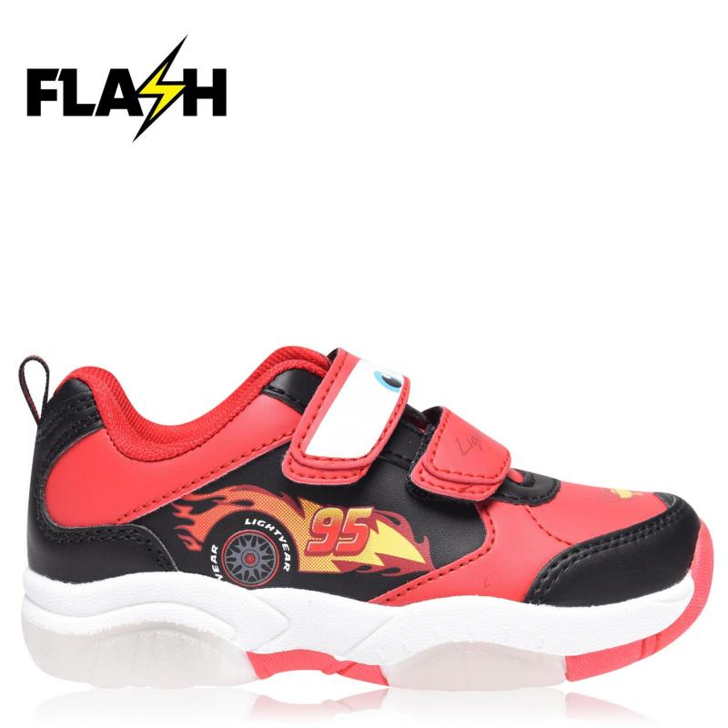 Boty Character Light Up Infants Trainers Disney Cars