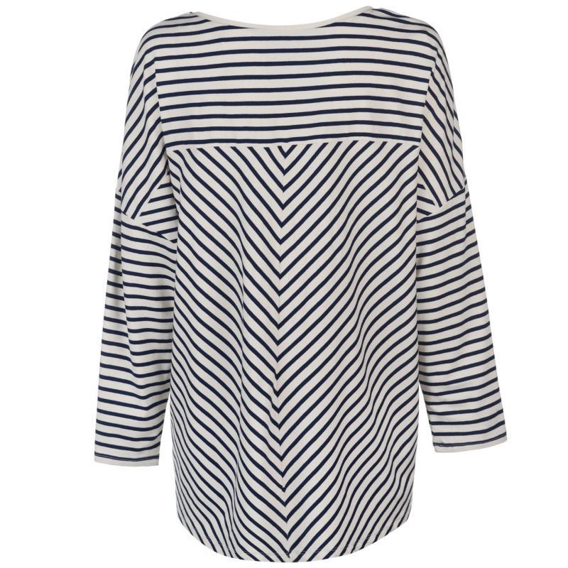 Kickers Print Vest Ladies Navy Marl