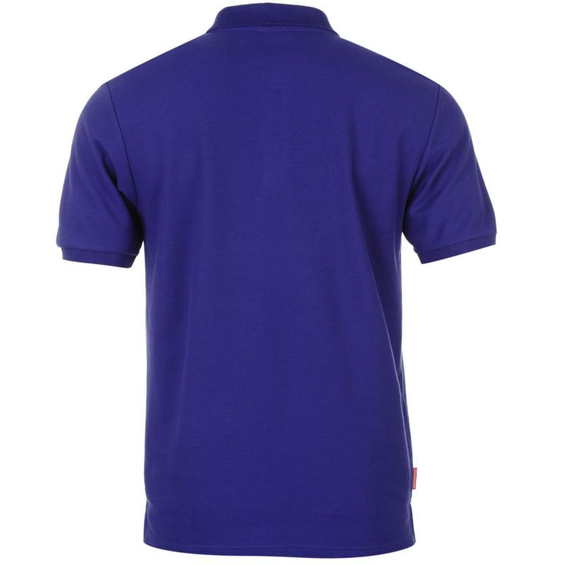 Slazenger Plain Polo Shirt Mens Deep Purple