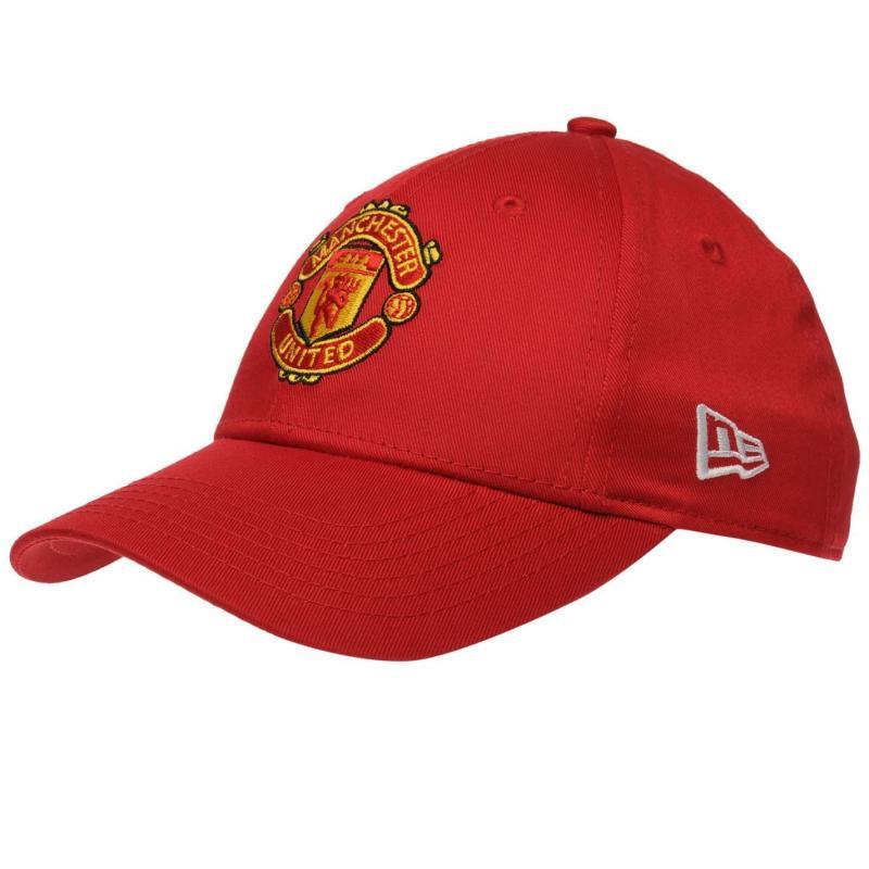 New Era Manchester United Baseball Cap Red