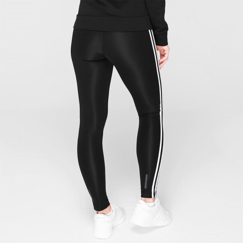Adidas 3 Stripe Long Tight Ladies Black/White