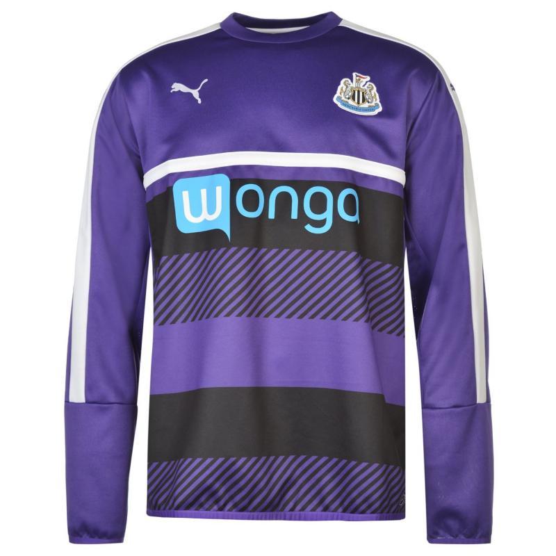 Mikina Puma Newcastle United Sweatshirt Mens Team Violet