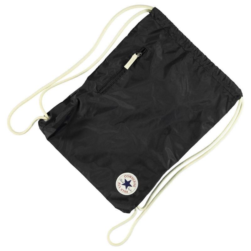 Converse Cinch Gym Bag Black