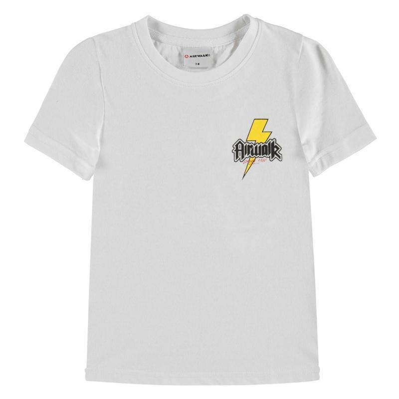 Tričko Airwalk Printed T Shirt Junior Bolt