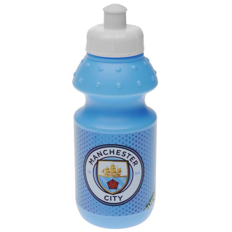 Team Football Water Bottle Man City