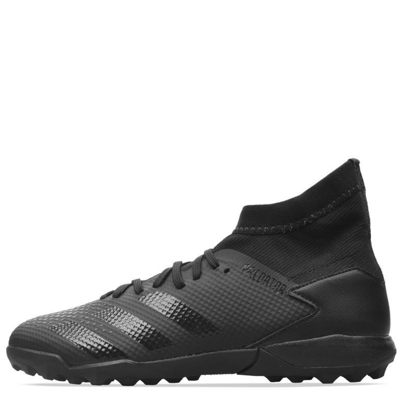 Adidas Predator 20.3 Mens Football Trainers Turf Black/Black