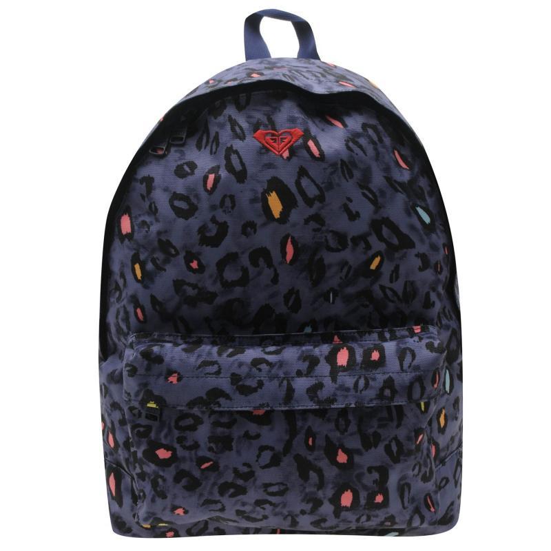 Roxy Basic Backpack Blue Print