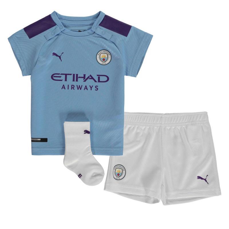 Puma Manchester City Home Baby Kit 2019 2020 Blue/Purple