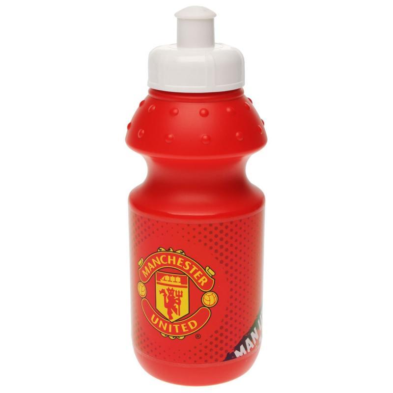 Team Football Water Bottle Man Utd