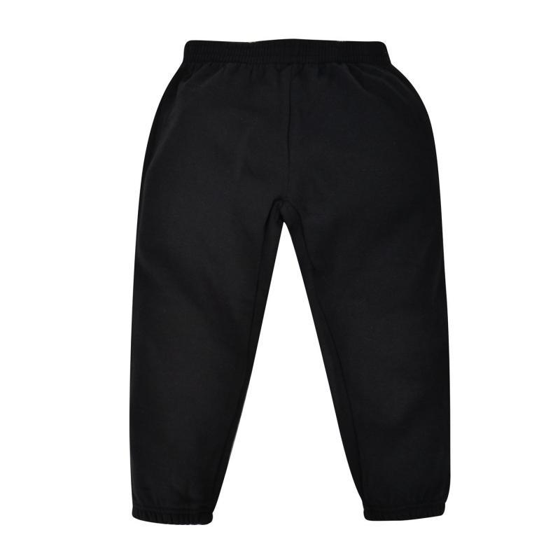 Tepláky Crafted Essentials Fleece Pants Unisex Childs Black