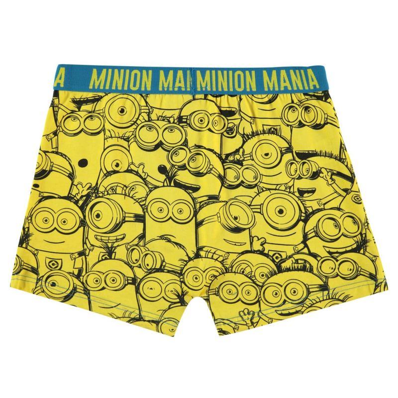 Spodní prádlo Character Single Boxer Shorts Junior Boys Minions