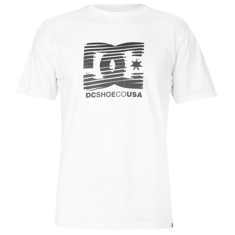 Tričko DC Challenger T Shirt Mens White