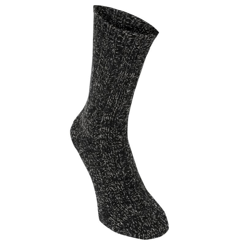 Ponožky Firetrap Boot Sock Box Mens Red/Charcoal