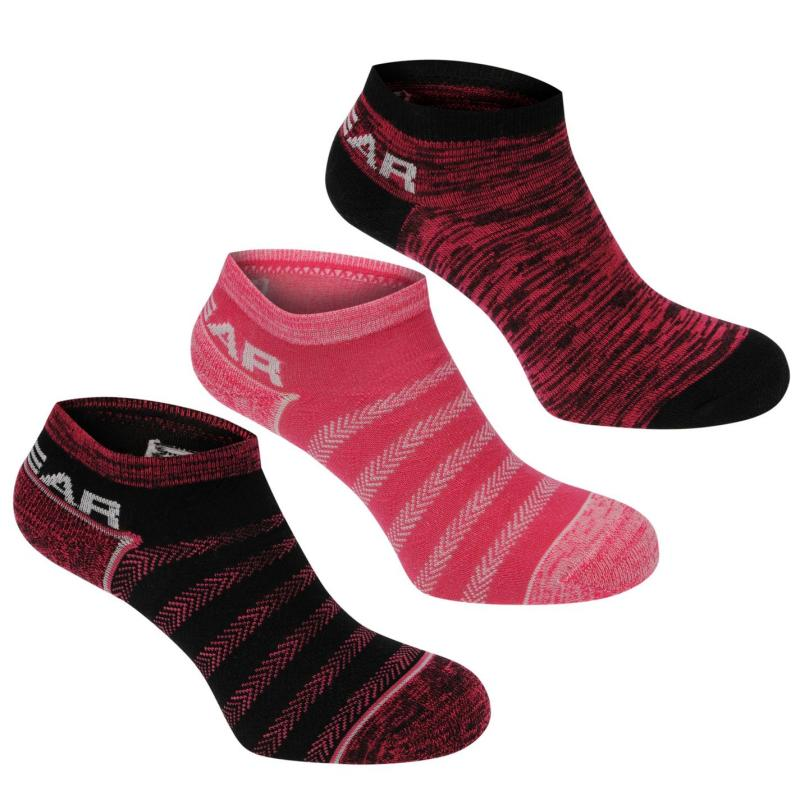 Ponožky LA Gear Yoga Sock 3 Pack Ladies Multi