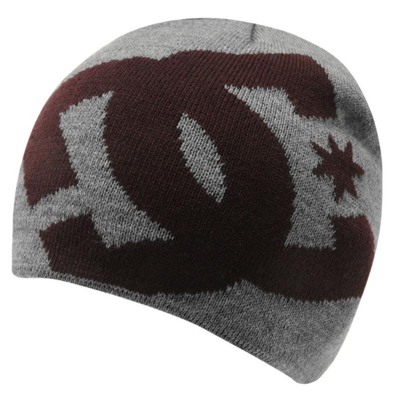 82b01ec2a26 DC Faded Wind Beanie Hat Mens Grey Heather