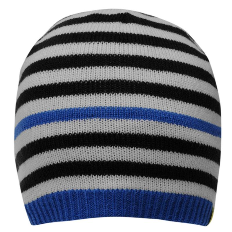 Adidas Stripe Beanie Juniors Blue