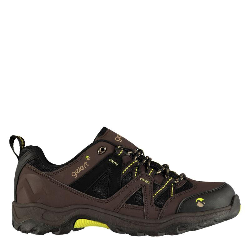 Boty Gelert Ottawa Low Mens Walking Shoes Brown
