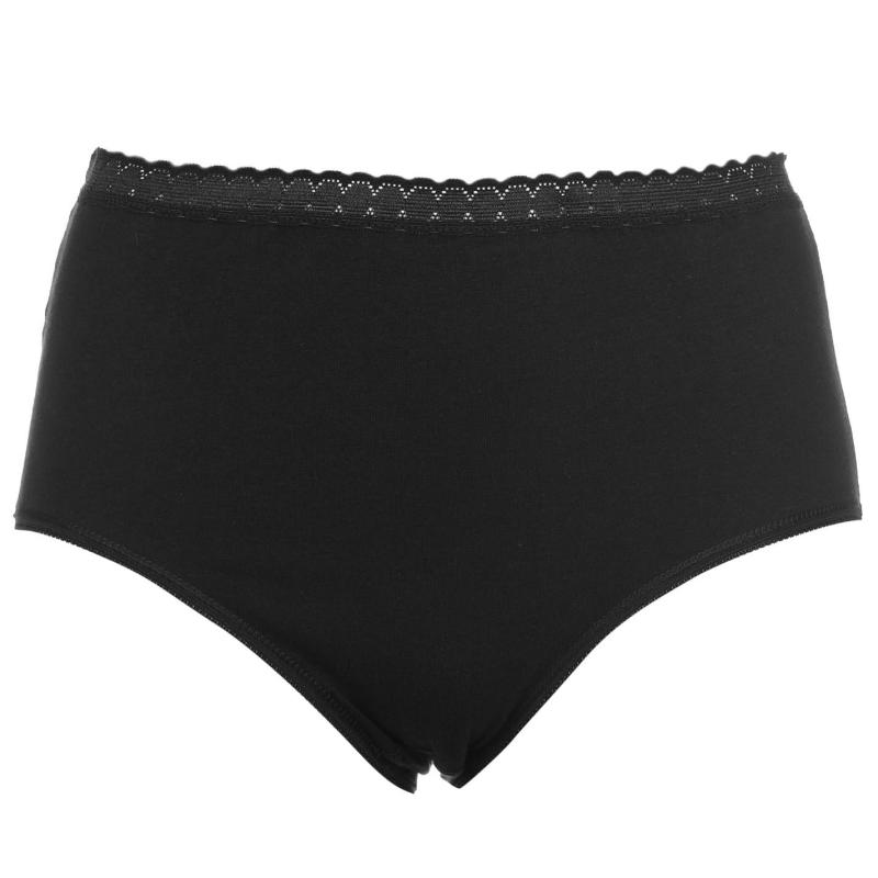 Spodní prádlo Cote De Moi Cotton Full Briefs Ladies Black