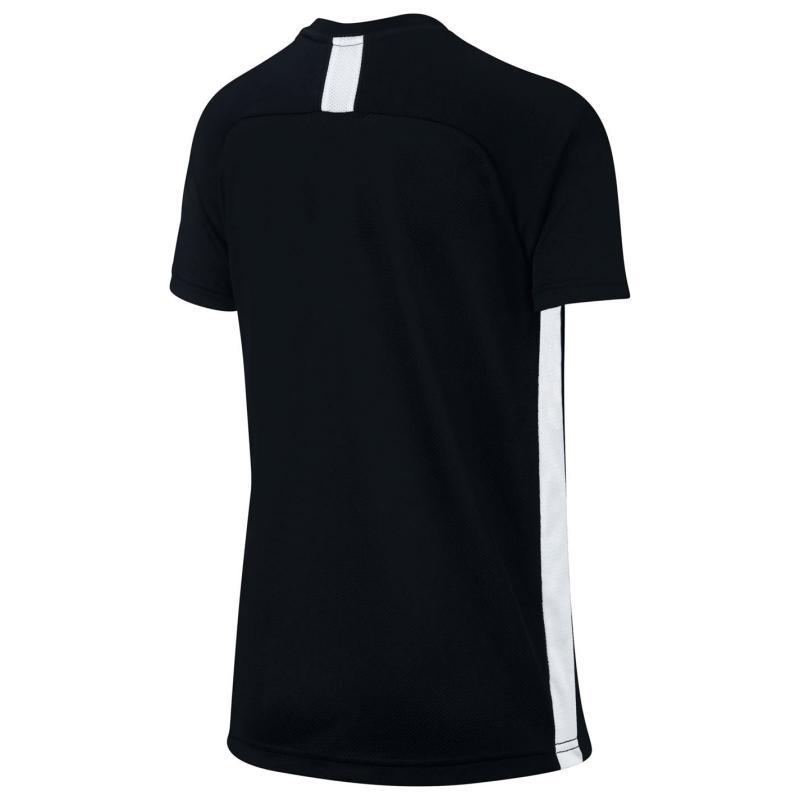 Tričko Nike Dri-FIT Academy Big Kids' Short-Sleeve Soccer Top Black/White