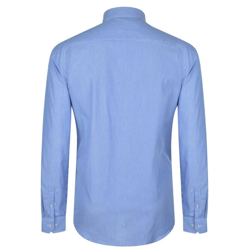 Moschino Long Sleeved Shirt 2 WBlue/BWhite