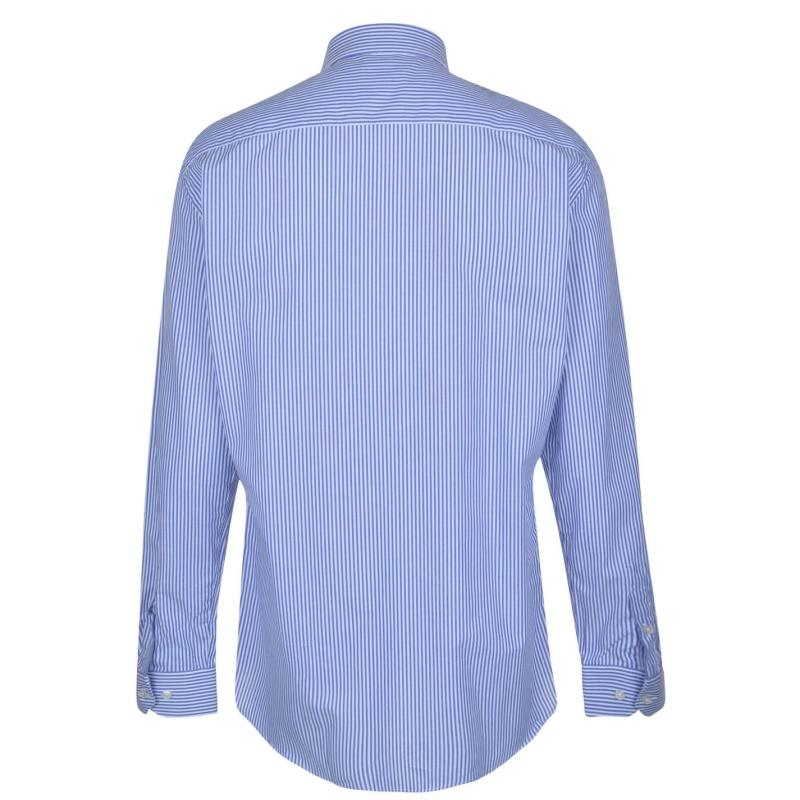 Moschino Long Sleeved Shirt 9 BBlu/Wht Strp