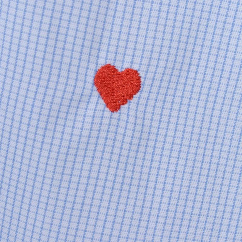 Moschino Sleeved Shirt 5 Whit/Blu Chk
