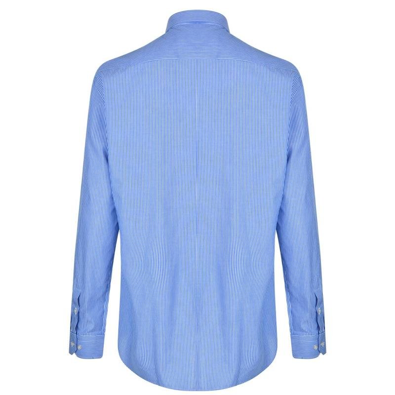 Moschino Long Sleeved Shirt 22 Blue/LBlu/Wh
