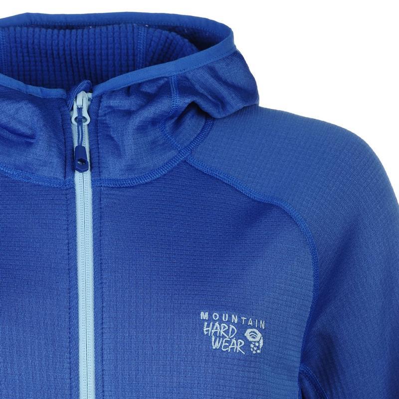 Mikina Mountain Hardwear Grid Fleece Ladies Blue