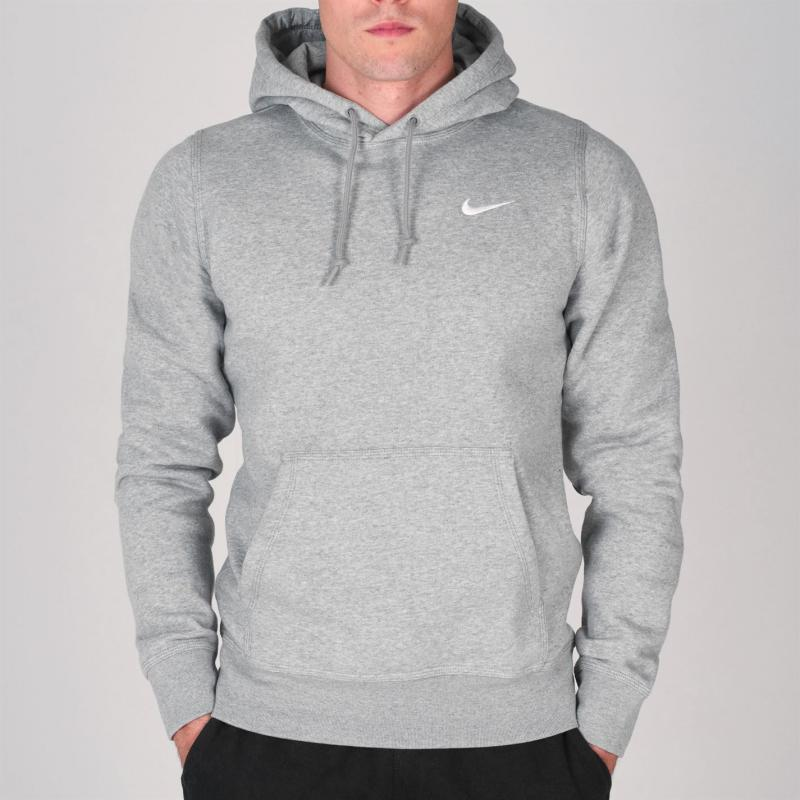 Mikina Nike Fundamentals Fleece Hoody Mens Grey