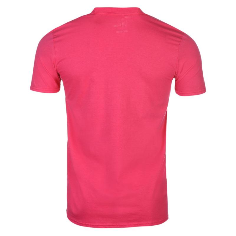 Tričko NUFC Newcastle United Graphic T Shirt Mens Pink