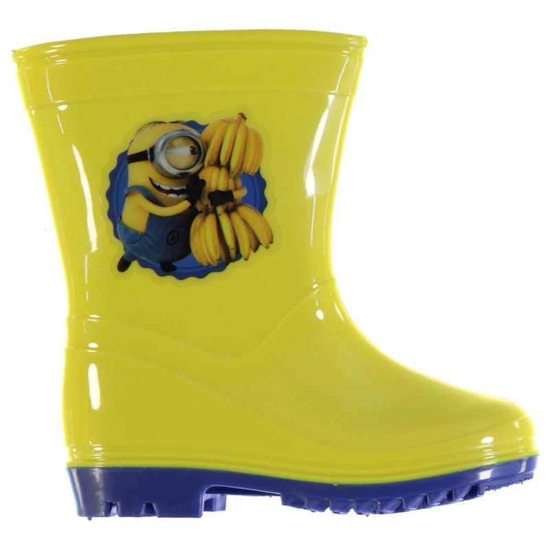 Minions Wellies Childrens Yellow